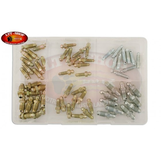 assortiment vis de purge 60 pieces -laser